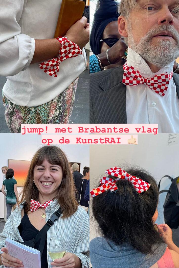 9.Brabantse vlag op de beurs