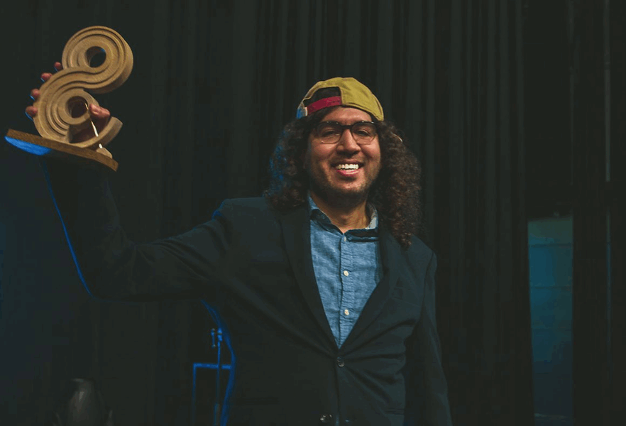 Aiman Hassani winnaar &Award Persoonsprijs