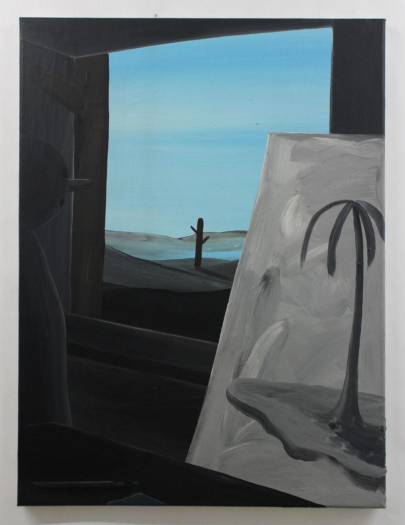 De schilder en zijn thema