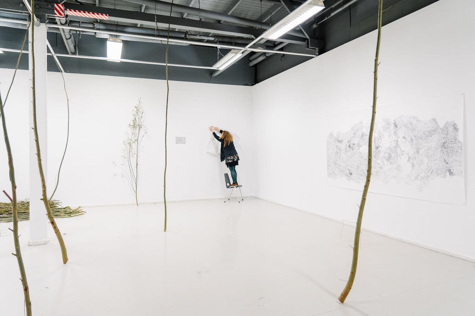 Duo tentoonstelling Roos Vogels met mentor Gam Bodenhausen