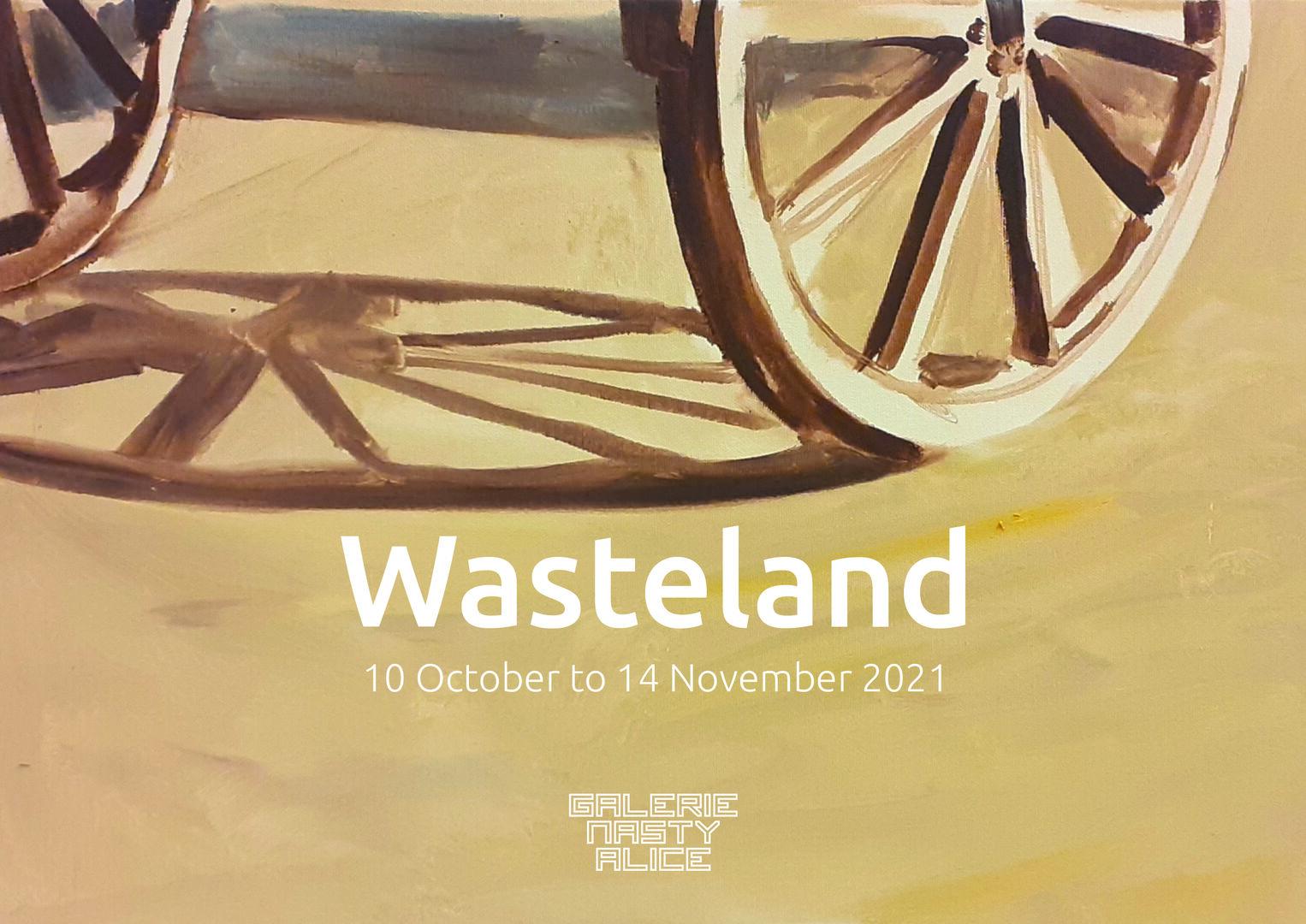 Flyer Wasteland voorzijde