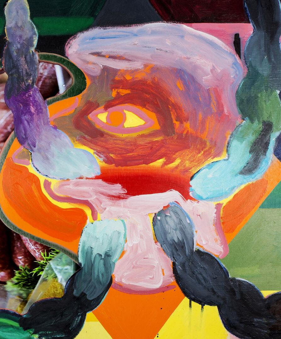 Remy Neumann toont nieuwe schilderijen in TAC, Eindhoven